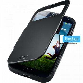 Чехол Spigen Slim Armor View для Samsung Galaxy S4 черный
