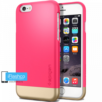 Чехол Spigen Style Armor Azalea Pink для iPhone 6 / 6s