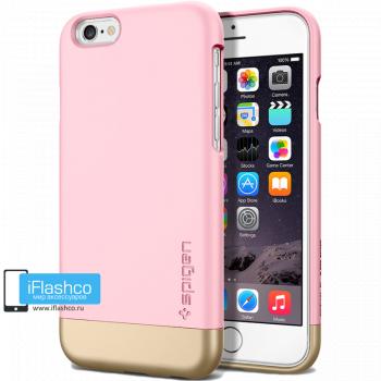 Чехол Spigen Style Armor Sherbet Pink для iPhone 6 / 6s