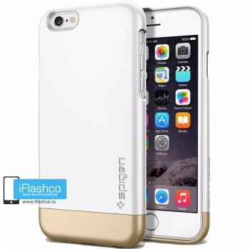 Чехол Spigen Style Armor Shimmery White для iPhone 6 / 6s