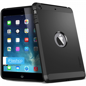 Чехол Spigen Tough Armor Black для iPad Air черный