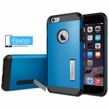 Чехол Spigen Tough Armor S Electric Blue для iPhone 6 / 6s