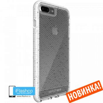 Чехол tech21 Evo Check Active Edition для iPhone 7 Plus / 8 Plus CLEAR/WHITE