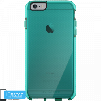 Чехол tech21 Evo Check для iPhone 6 / 6s Plus AQUA/WHITE