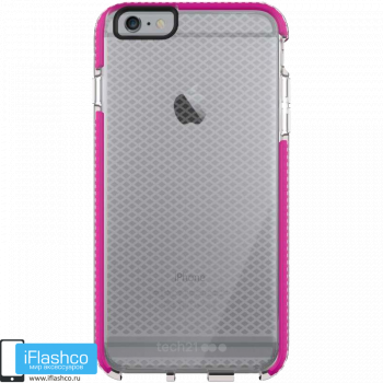 Чехол tech21 Evo Check для iPhone 6 / 6s Plus CLEAR/PINK