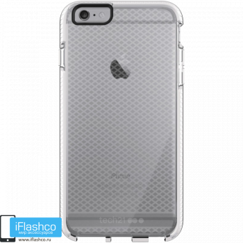 Чехол tech21 Evo Check для iPhone 6 / 6s Plus CLEAR/WHITE