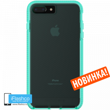 Чехол tech21 Evo Check для iPhone 7 Plus / 8 Plus AQUA