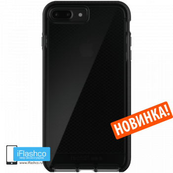 Чехол tech21 Evo Check для iPhone 7 Plus / 8 Plus SMOKEY/BLACK