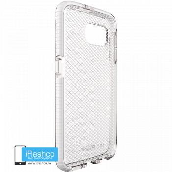 Чехол tech21 Evo Check для Samsung Galaxy S6 CLEAR/WHITE