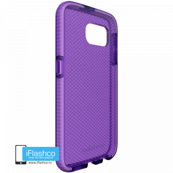 Чехол tech21 Evo Check для Samsung Galaxy S6 PURPLE/WHITE