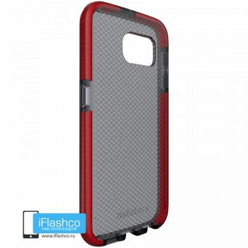 Чехол tech21 Evo Check для Samsung Galaxy S6 SMOKEY/RED