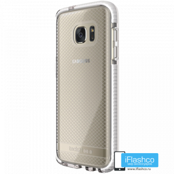 Чехол tech21 Evo Check для Samsung Galaxy S7 CLEAR/WHITE