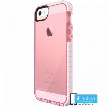 Чехол tech21 Evo Mesh для iPhone 5 / 5s / SE ROSEBUD/WHITE