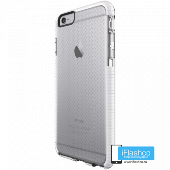 Чехол tech21 Evo Mesh для iPhone 6 / 6s Plus CLEAR/WHITE