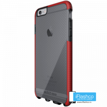 Чехол tech21 Evo Mesh для iPhone 6 / 6s Plus SMOKEY/RED