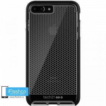 Чехол tech21 Evo Mesh для iPhone 7 Plus / 8 Plus CLEAR/BLACK
