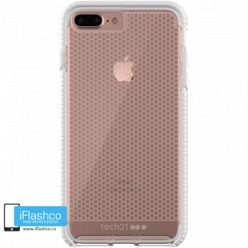 Чехол tech21 Evo Mesh для iPhone 7 Plus / 8 Plus CLEAR/WHITE