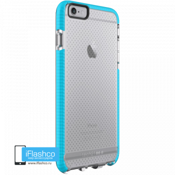Чехол tech21 Evo Mesh Sport для iPhone 6 / 6s Plus CLEAR/BLUE