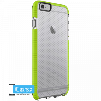 Чехол tech21 Evo Mesh Sport для iPhone 6 / 6s Plus CLEAR/GREEN