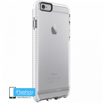 Чехол tech21 Evo Mesh Sport для iPhone 6 / 6s Plus CLEAR/WHITE