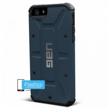 Чехол Urban Armor Gear Aero для iPhone 5 / 5S / SE синий