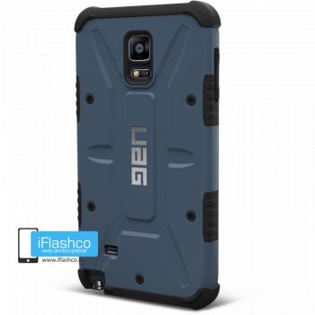 Чехол Urban Armor Gear Aero для Samsung Galaxy Note 4 синий