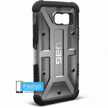 Чехол Urban Armor Gear Ash для Samsung Galaxy S6 черный прозрачный