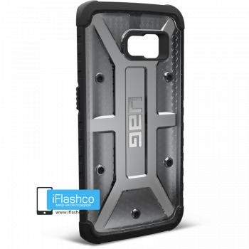 Чехол Urban Armor Gear Ash для Samsung Galaxy S6 Edge черный прозрачный