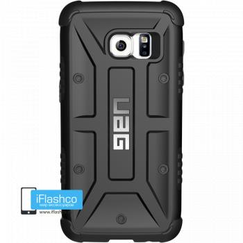 Чехол Urban Armor Gear Black для Samsung Galaxy S7 Edge черный