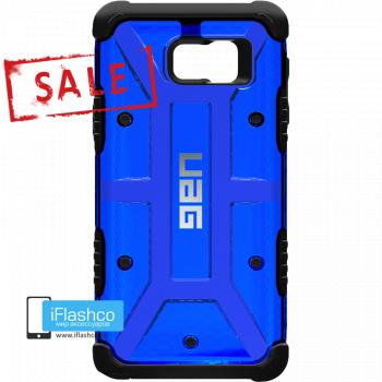 Чехол Urban Armor Gear Cobalt для Samsung Galaxy Note 5 синий прозрачный
