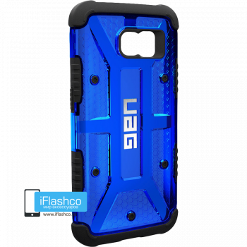Чехол Urban Armor Gear Cobalt для Samsung Galaxy S6 синий прозрачный