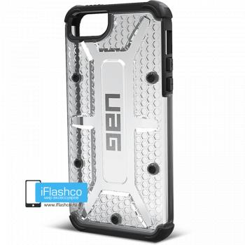 Чехол Urban Armor Gear Ice для iPhone 5 / 5S / SE серый прозрачный