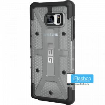 Чехол Urban Armor Gear Ice для Samsung Galaxy Note 7 серый прозрачный