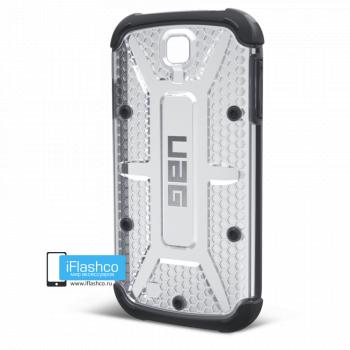 Чехол Urban Armor Gear Ice для Samsung Galaxy S4 прозрачный