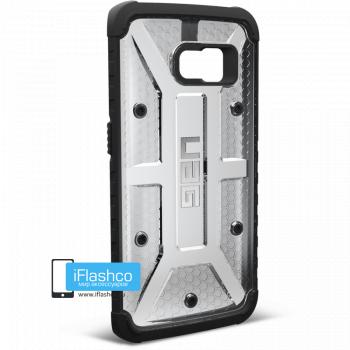 Чехол Urban Armor Gear Maverick для Samsung Galaxy S6 Edge серый прозрачный