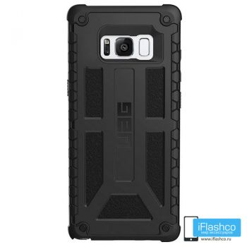Чехол Urban Armor Gear Monarch Black для Samsung Galaxy S8+