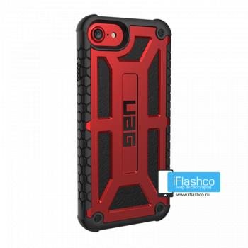 Чехол Urban Armor Gear Monarch Crimson для iPhone 7/8/SE