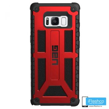 Чехол Urban Armor Gear Monarch Crimson для Samsung Galaxy S8+