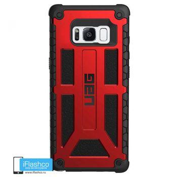 Чехол Urban Armor Gear Monarch Crimson для Samsung Galaxy S8