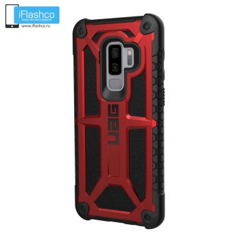 Чехол Urban Armor Gear Monarch Crimson для Samsung Galaxy S9+