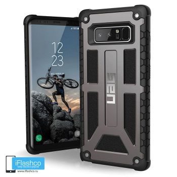 Чехол Urban Armor Gear Monarch Graphite для Samsung Galaxy Note 8