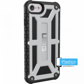 Чехол Urban Armor Gear Monarch Platinum для iPhone 7/8/SE