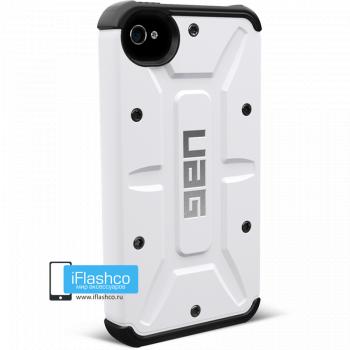 Чехол Urban Armor Gear Navigator для iPhone 4 / 4S белый
