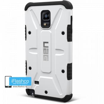 Чехол Urban Armor Gear Navigator для Samsung Galaxy Note 4 белый