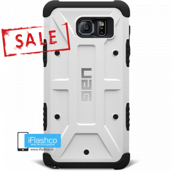Чехол Urban Armor Gear Navigator для Samsung Galaxy Note 5 белый