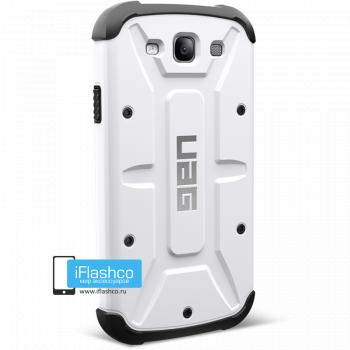 Чехол Urban Armor Gear Navigator для Samsung Galaxy S3 белый
