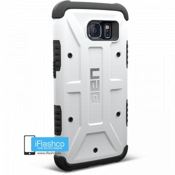 Чехол Urban Armor Gear Navigator для Samsung Galaxy S6 белый