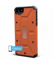 Чехол Urban Armor Gear Outland для iPhone 5 / 5S / SE оранжевый