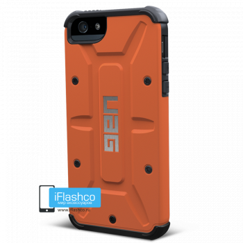 Чехол Urban Armor Gear Outland для iPhone 5 / 5S / SE оранжевый