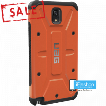 Чехол Urban Armor Gear Outland для Samsung Galaxy Note 3 оранжевый